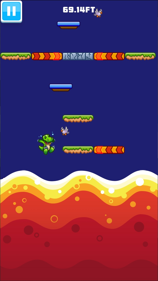 Ready, Jump! is an endless, vertical scrolling platformer that's available now for iOS and Android   Articles