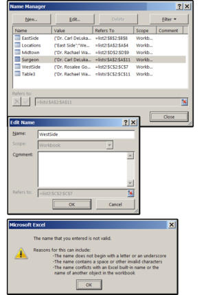 05 rename your tables using excels name manager