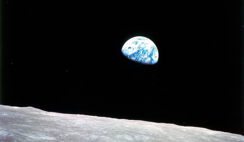 """The visceral sense of Earth's fragility against the vastness of space came home to many humans shortly before the first Earth Day, when Apollo 8 astronaut William Anders shot the iconic image of our planet hovering over the surface of the moon. The profound question arose: """"Are humans alone?"""""""