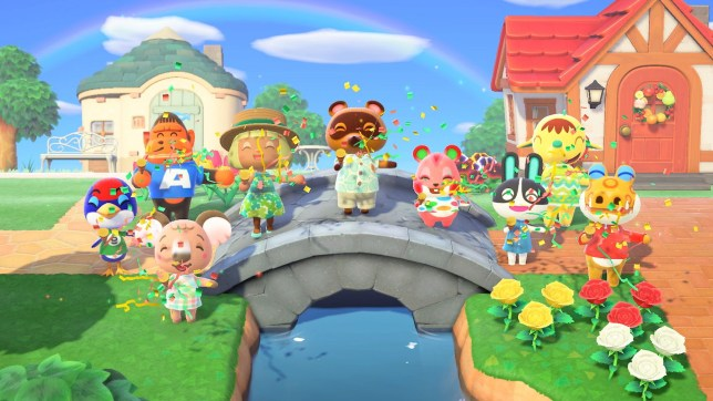 Captura de pantalla de Animal Crossing: New Horizons