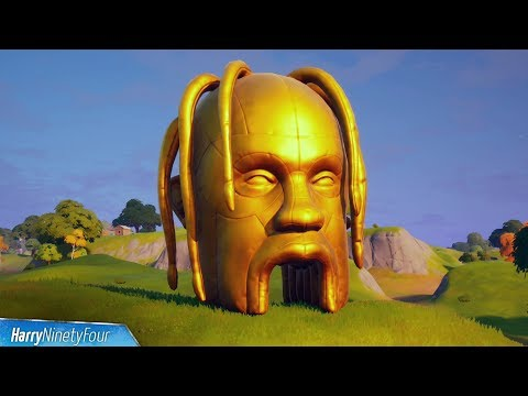 Fortnite Astro Head Locations: ALL Travis Scott Astronomical challenge Giant Heads
