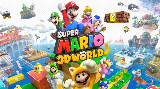 Captura de pantalla de Super Mario 3D World