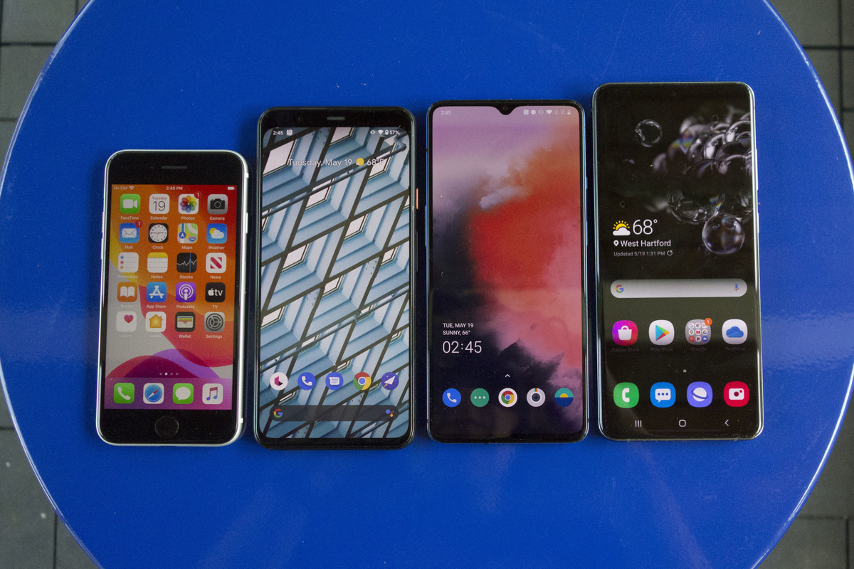 iphone se android lineup