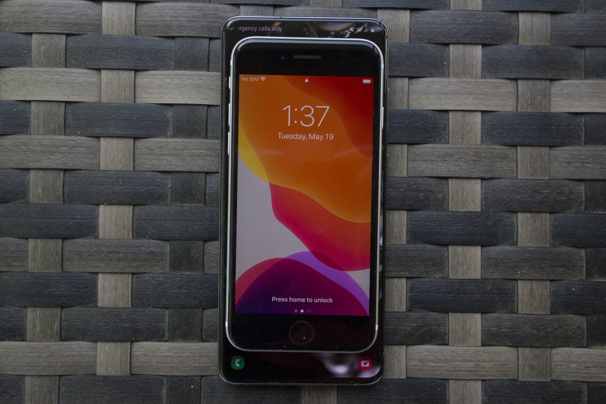 iphone se android tamaño