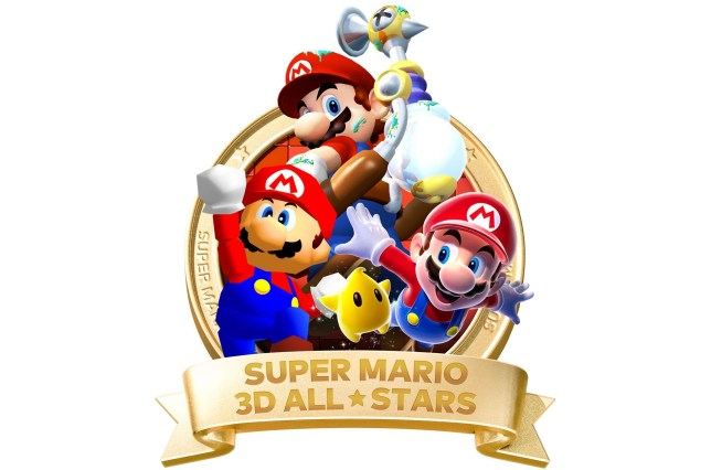 Logotipo de Super Mario 3D All-Stars