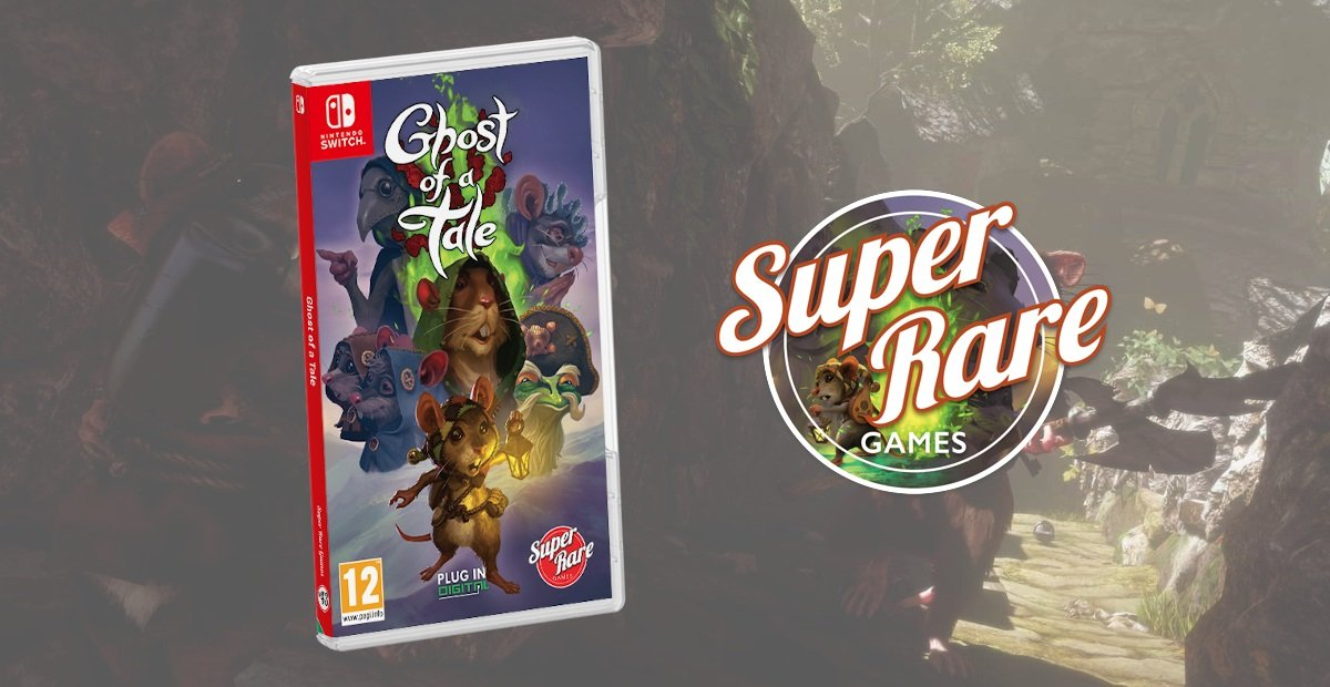 Gana Ghost of a Tale en Switch desde Super Rare Games